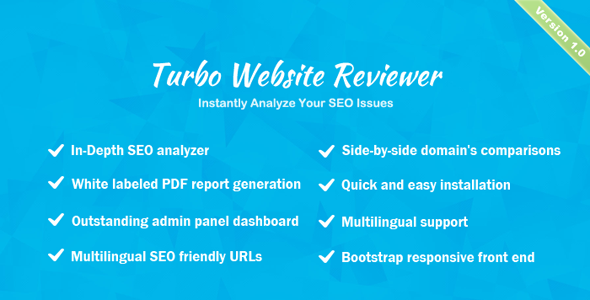 Turbo Website Reviewer – In-depth SEO Analysis Tool (Miscellaneous) images