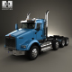 Kenworth T800 Chassis Truck 4-axle 2005