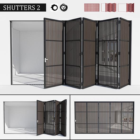 3DOcean Door shutters 20069654