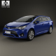 Toyota Avensis (T270) wagon with HQ interior 2016