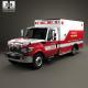 International TerraStar Ambulance Truck 2010