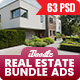 Bundle Real Estate Banners Ad - 04 Sets