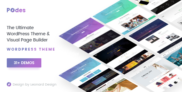Podes – Creative Business Responsive Multi-Purpose WordPress Theme (Business) images