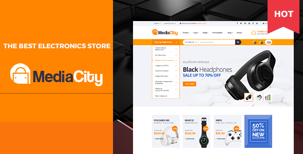 Image of MediaCity - Technology Responsive Opencart Theme