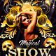 Magical Showtime Music Dance Party Flyer - GraphicRiver Item for Sale