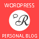 Ruaha : Responsive Personal Blog WordPress Theme