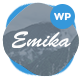 Emika - Personal WordPress Blog Theme