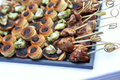 Toasts and skewers