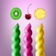 Set of Spiral Lollipops