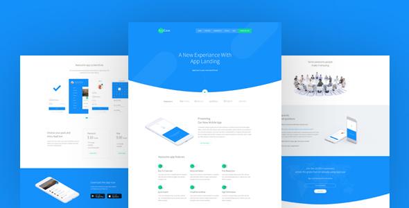 AppCase - App Landing Page