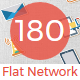 Network and Comminications Flat Paper icon