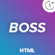 BOSS - Coming Soon Template