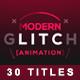 30 Glitch Titles