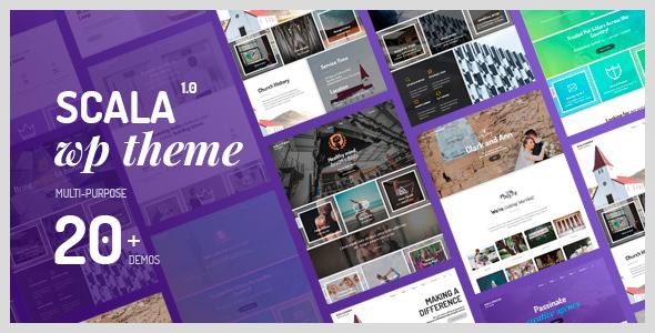Scala – Multipurpose Theme (Small business)