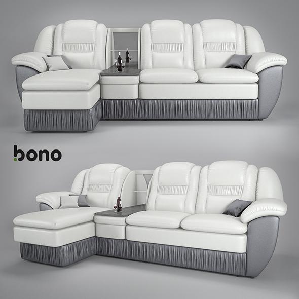 3DOcean sofa Bono Chester2 20081358