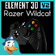 Razer Wildcat for Element 3D