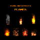 Pixel Art Effects-Flames