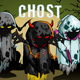 Ghosts 2D Game Character Sprite Sheet