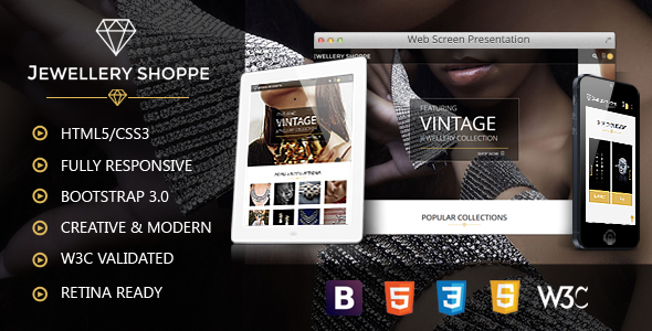 Jewellery | eCommerce HTML Template