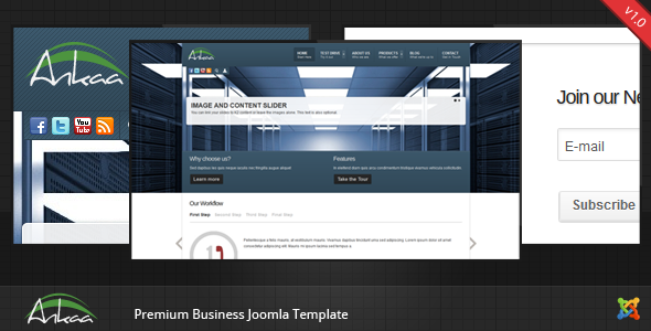 Ankaa - Joomla Business Template