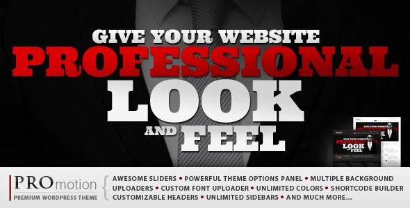 ThemeForest ProMotion WordPress Theme 1965786