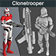 Clonetrooper With Weapon