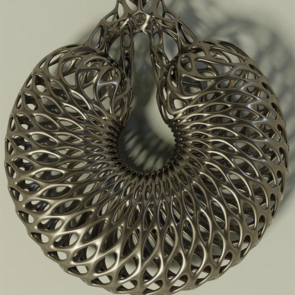 3DOcean Interstellar earring 20085684