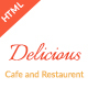 Restaurant and cafe HTML Template
