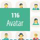 100+ Avatar Flat Rounded icons