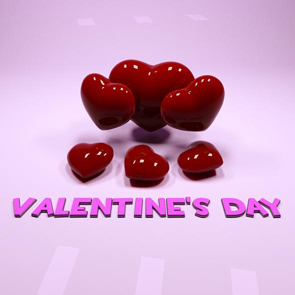 3DOcean Valentine s day 20087002