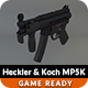 Low Poly Heckler & Koch MP5K