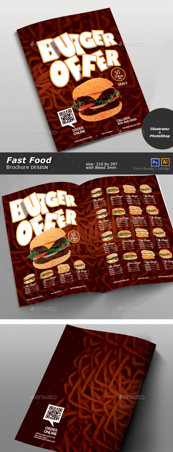 Restaurant Fast Food Menu