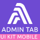 Admin Tab UI KIT Sketch