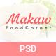Makaw - Restaurant PSD Template