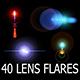 40 Lens Flares Full Pack Vol.1
