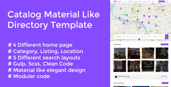 Catalog - Material Like Directory Responsive Template