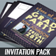 Graduation Party Invitation Pack