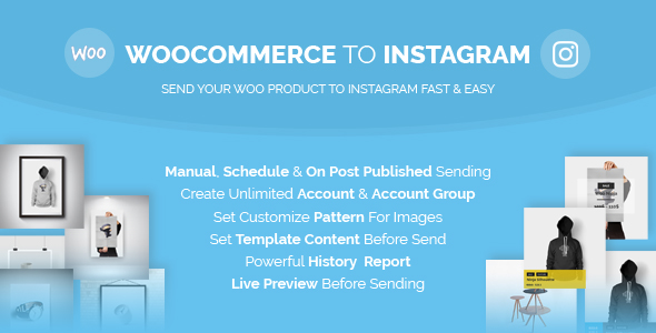 Woocommerce Item to Instagram (WooCommerce)
