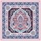 Bohemian Indian Mandala Towel Print. Vintage Henna