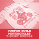 Custom Build Motorcycles T-Shirt Bundle