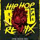 Hip Hop Brutal Remix Flyer