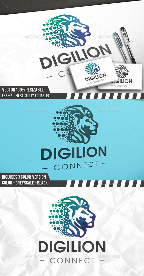 Digital Lion Logo