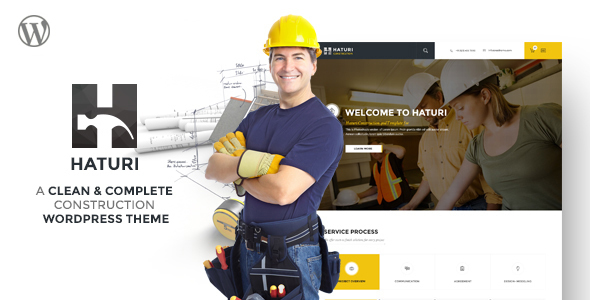 Haturi - Construction Business WP Theme