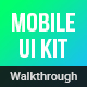 Walkthroughs - Mobile Template UI kit