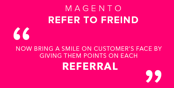 Magento Refer To Freind