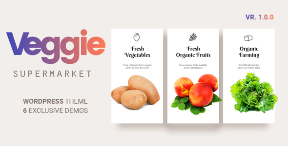 Veggie | Vegetable and Fruit Shop WordPress Theme