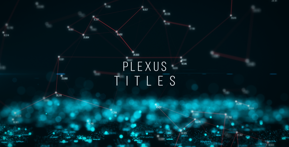 VideoHive Plexus Titles 20054661