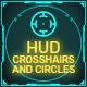 Sci-Fi Futuristic HUD Vol 2: Crosshairs and Circular  Elements
