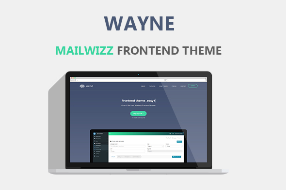 Wayne Mailwizz Frontend Theme (Add-ons) images