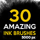 30 Ink Brushes